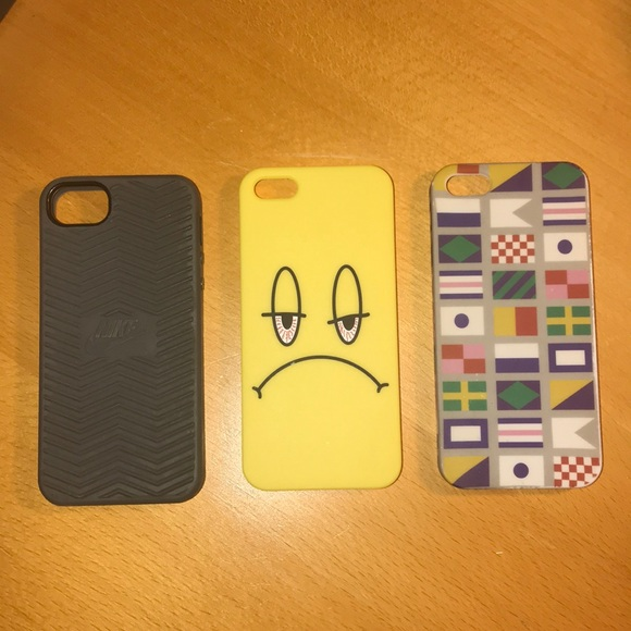 2fa35f77439483 Accessories | 3 Pack Of Iphone 55s Phone Cases | Poshmark